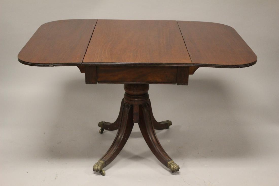 English Drop Side Table - 7