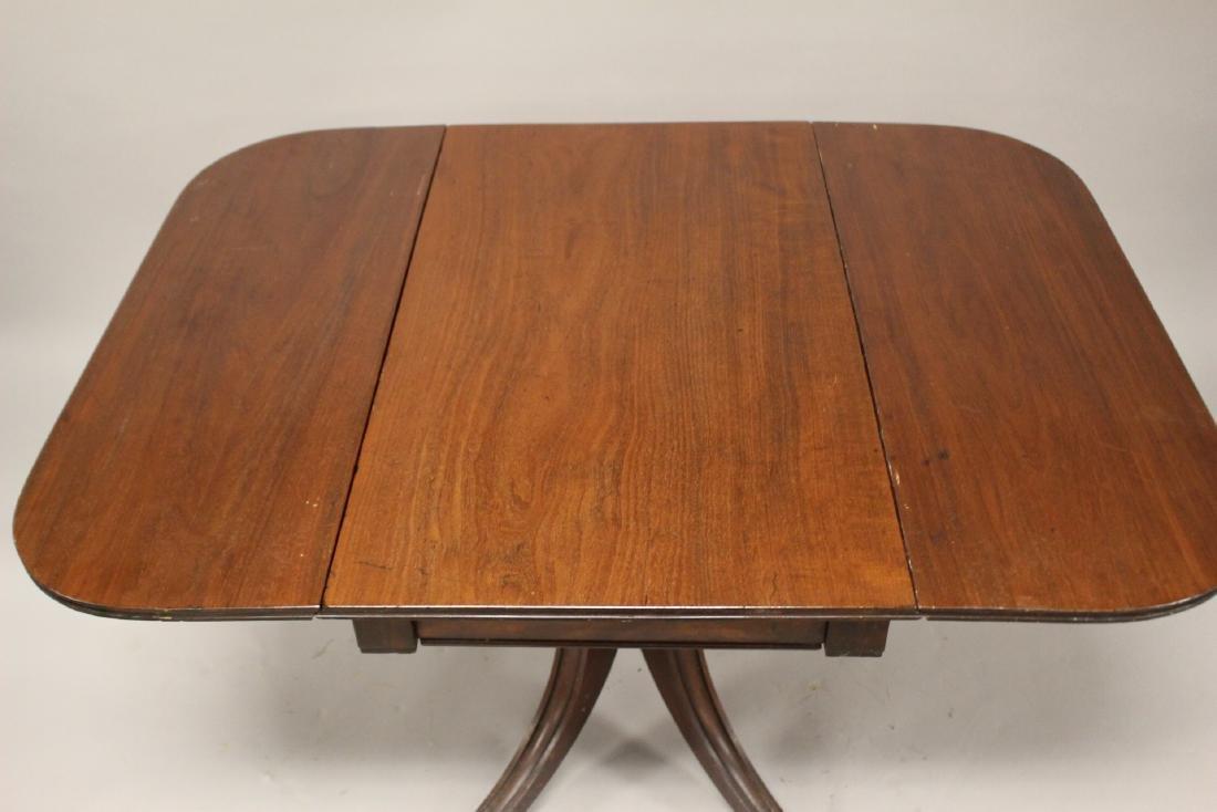 English Drop Side Table - 8