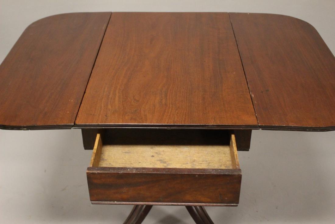 English Drop Side Table - 9