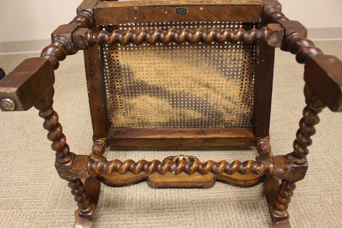 Karpen Furniture Co Throne Arm Chair - 10