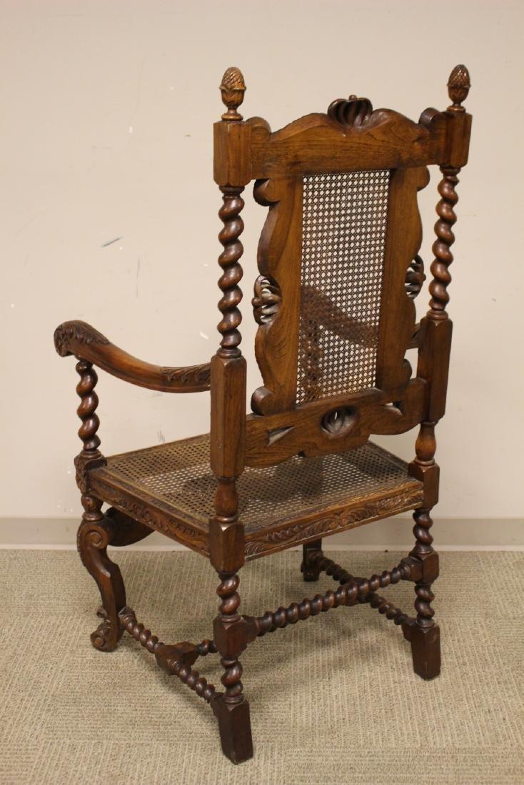Karpen Furniture Co Throne Arm Chair - 4