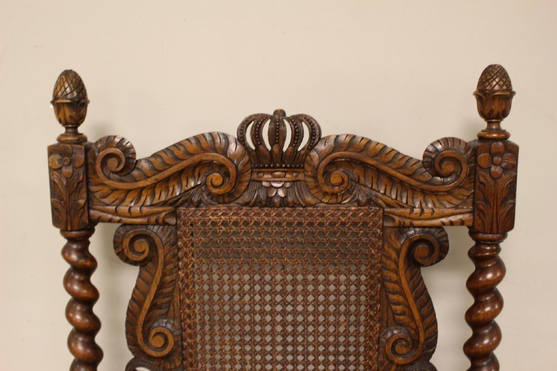 Karpen Furniture Co Throne Arm Chair - 5