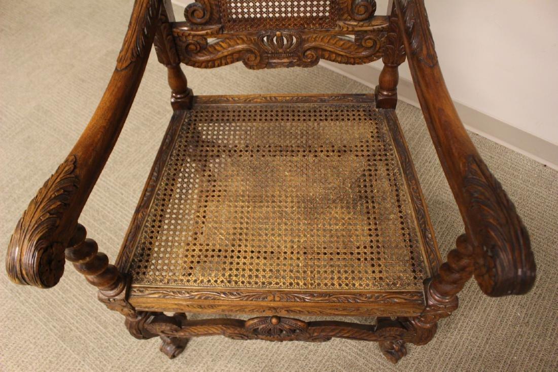 Karpen Furniture Co Throne Arm Chair - 6