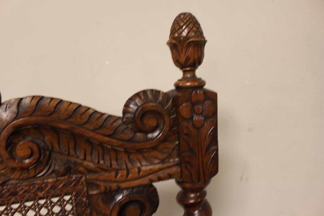 Karpen Furniture Co Throne Arm Chair - 7