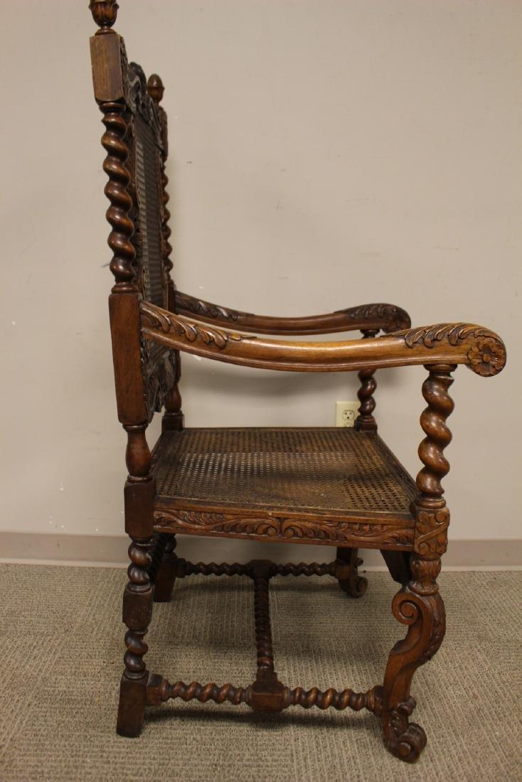 Karpen Furniture Co Throne Arm Chair - 8