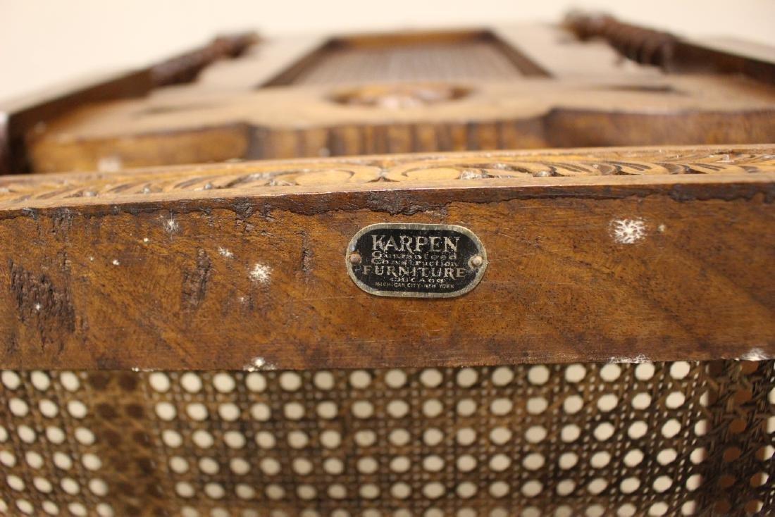 Karpen Furniture Co Throne Arm Chair - 9