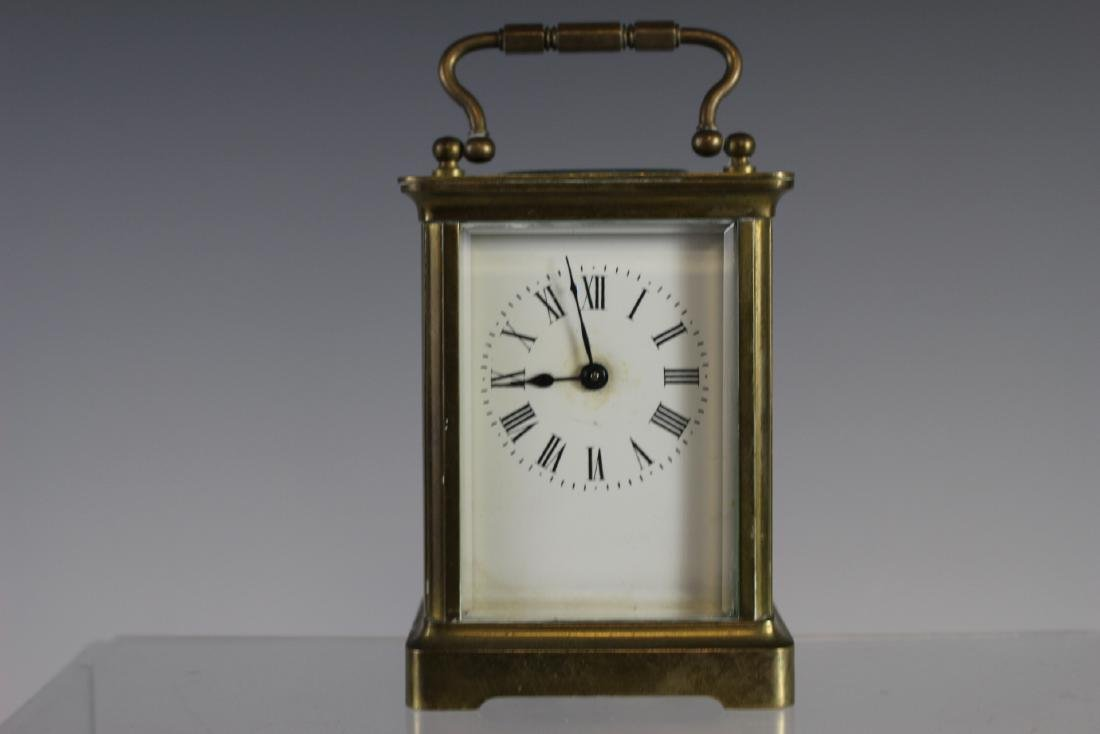 19th Century French Brass Carriage Clock - 2