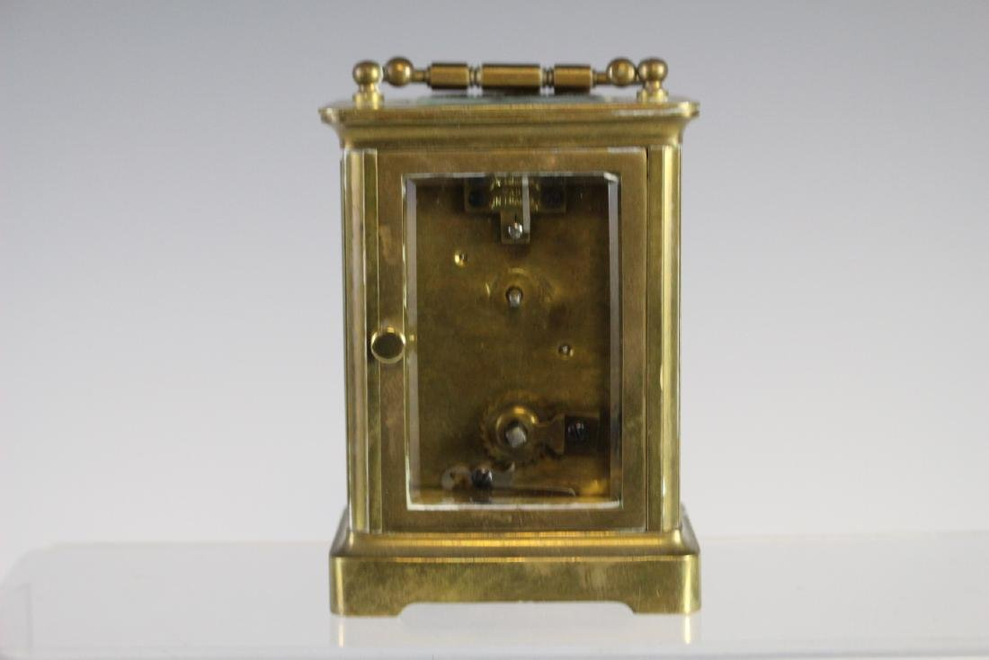 19th Century French Brass Carriage Clock - 5