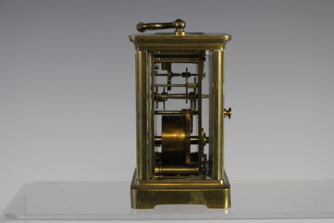 19th Century French Brass Carriage Clock - 6