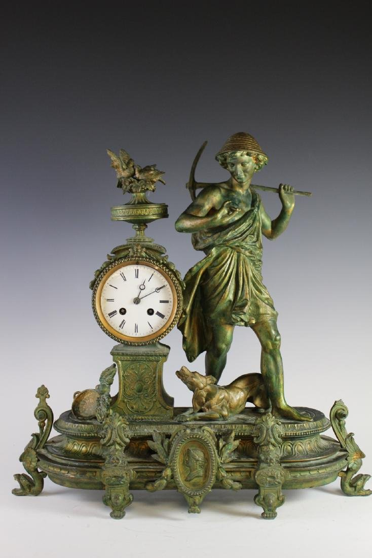 Japy Freres French Figural Clock - 2