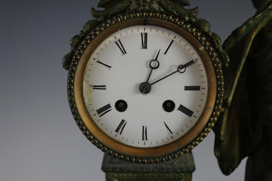 Japy Freres French Figural Clock - 5