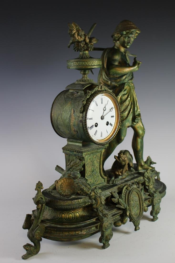 Japy Freres French Figural Clock - 7