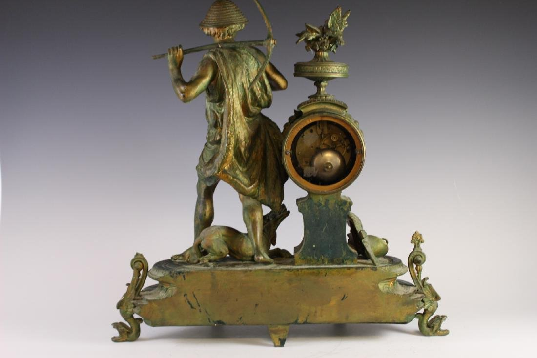 Japy Freres French Figural Clock - 8