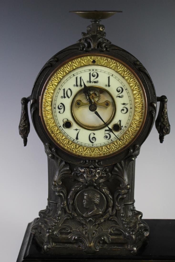 New Haven Clock WARRIOR Figural Clock - 2
