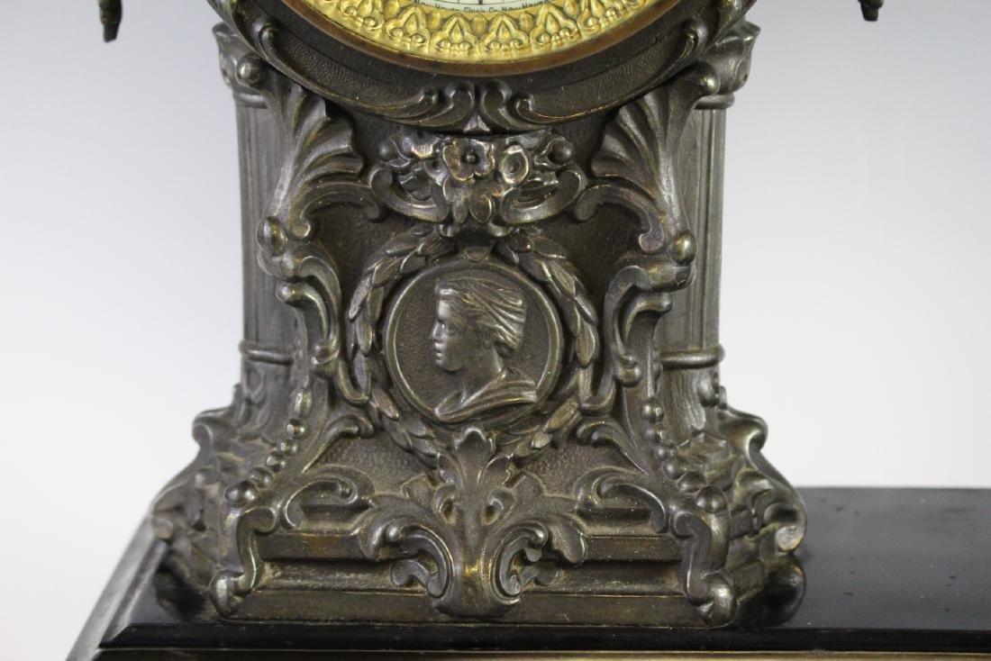 New Haven Clock WARRIOR Figural Clock - 3