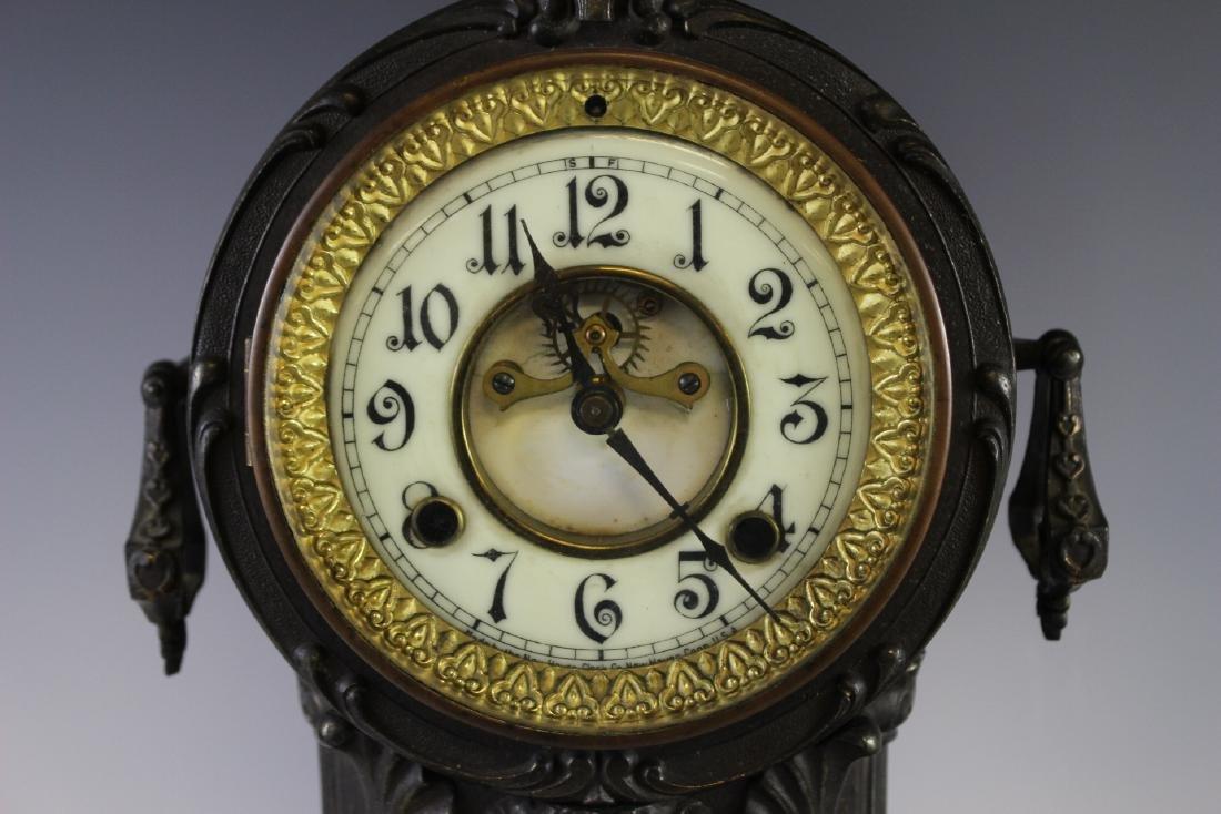 New Haven Clock WARRIOR Figural Clock - 4