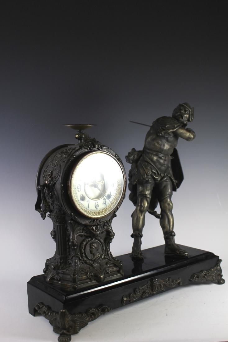 New Haven Clock WARRIOR Figural Clock - 7