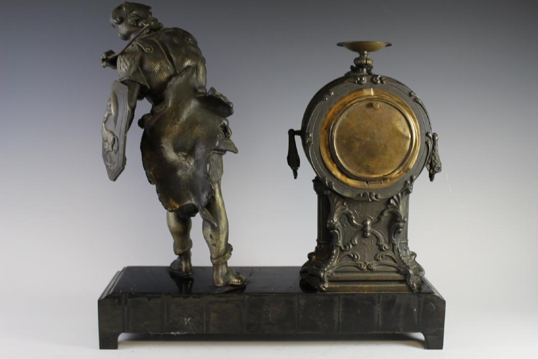 New Haven Clock WARRIOR Figural Clock - 8