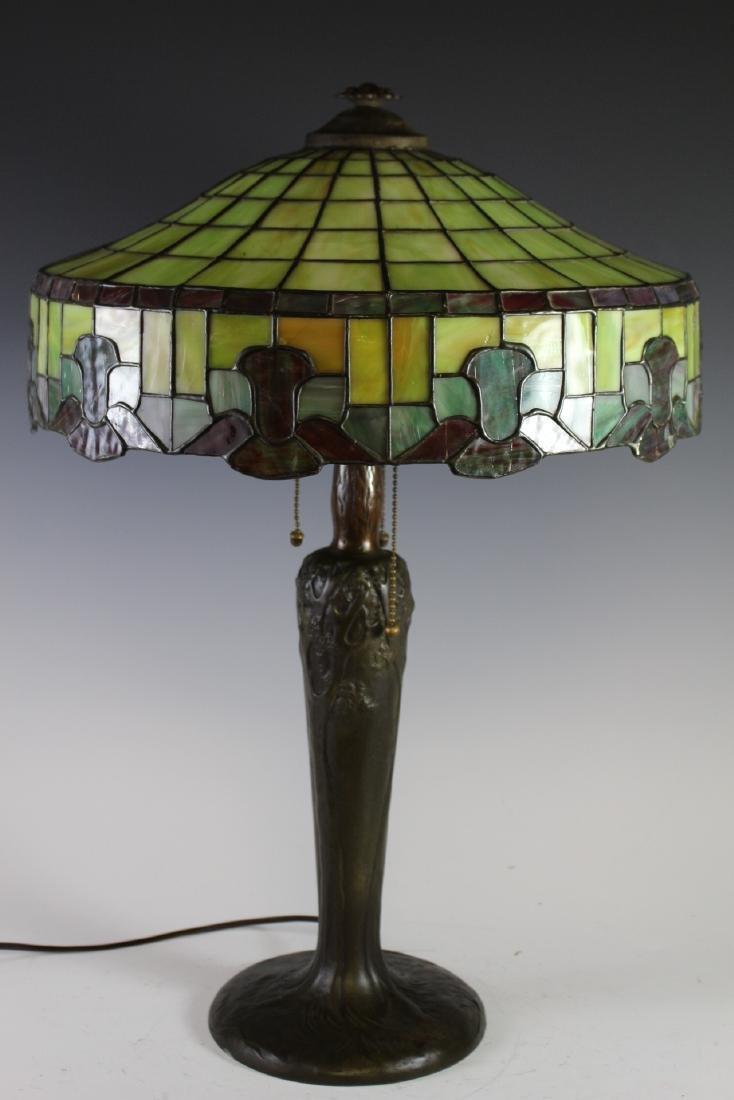 Handel Bronze Table Lamp