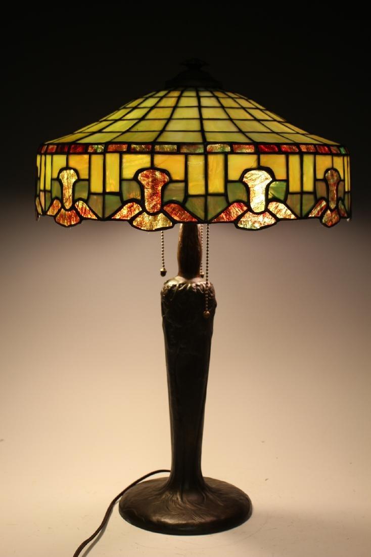 Handel Bronze Table Lamp - 7