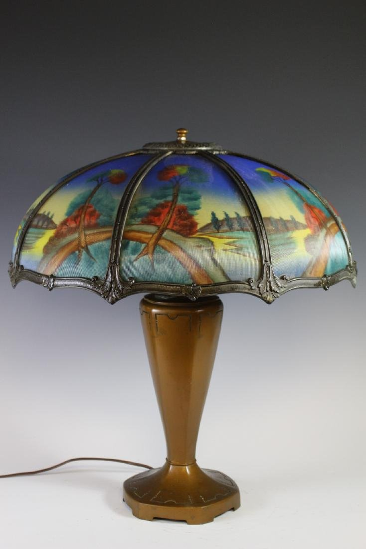 Bradley And Hubbard Style Lamp