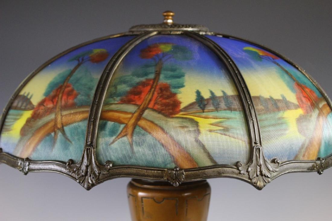 Bradley And Hubbard Style Lamp - 3