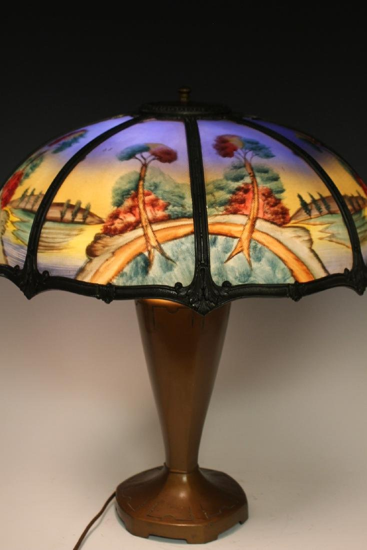 Bradley And Hubbard Style Lamp - 7