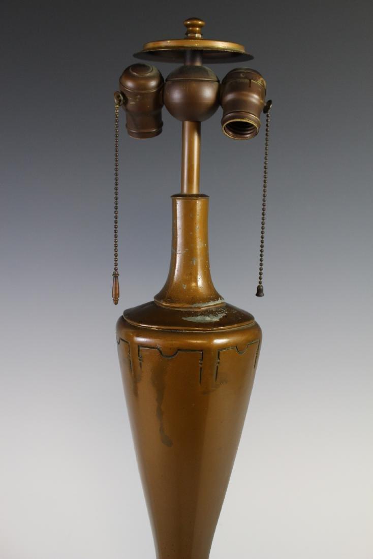 Bradley And Hubbard Style Lamp - 9