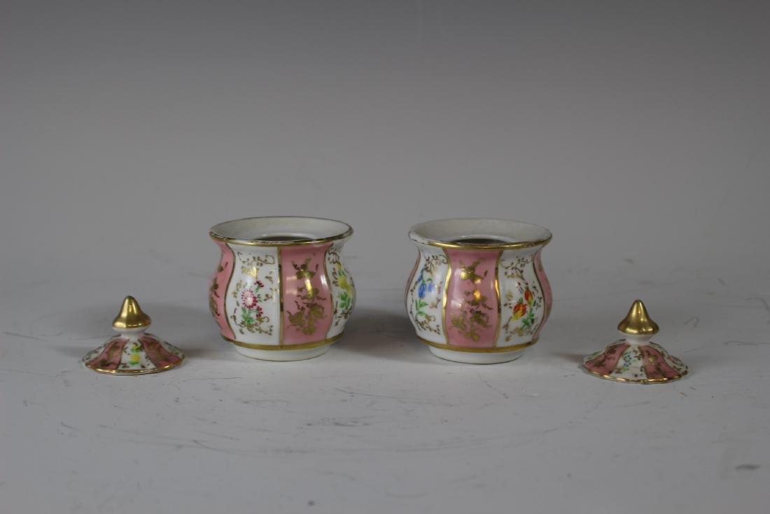 German Porcelain Inkwell - 7