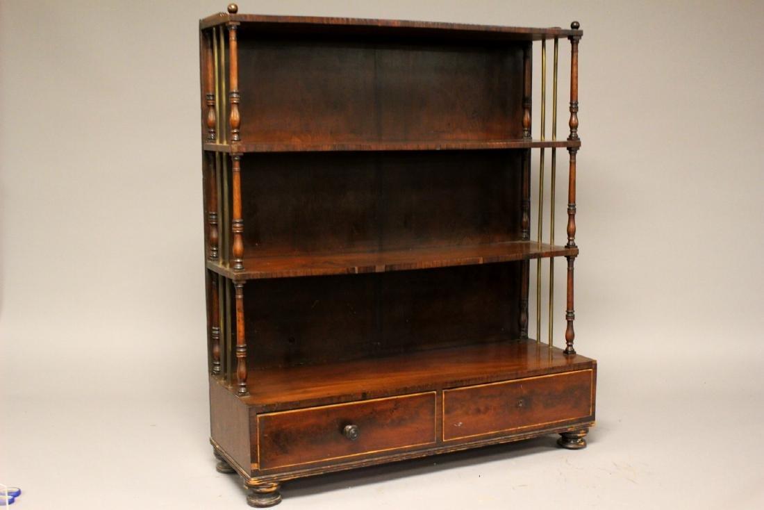 19th Century English Bookcase
