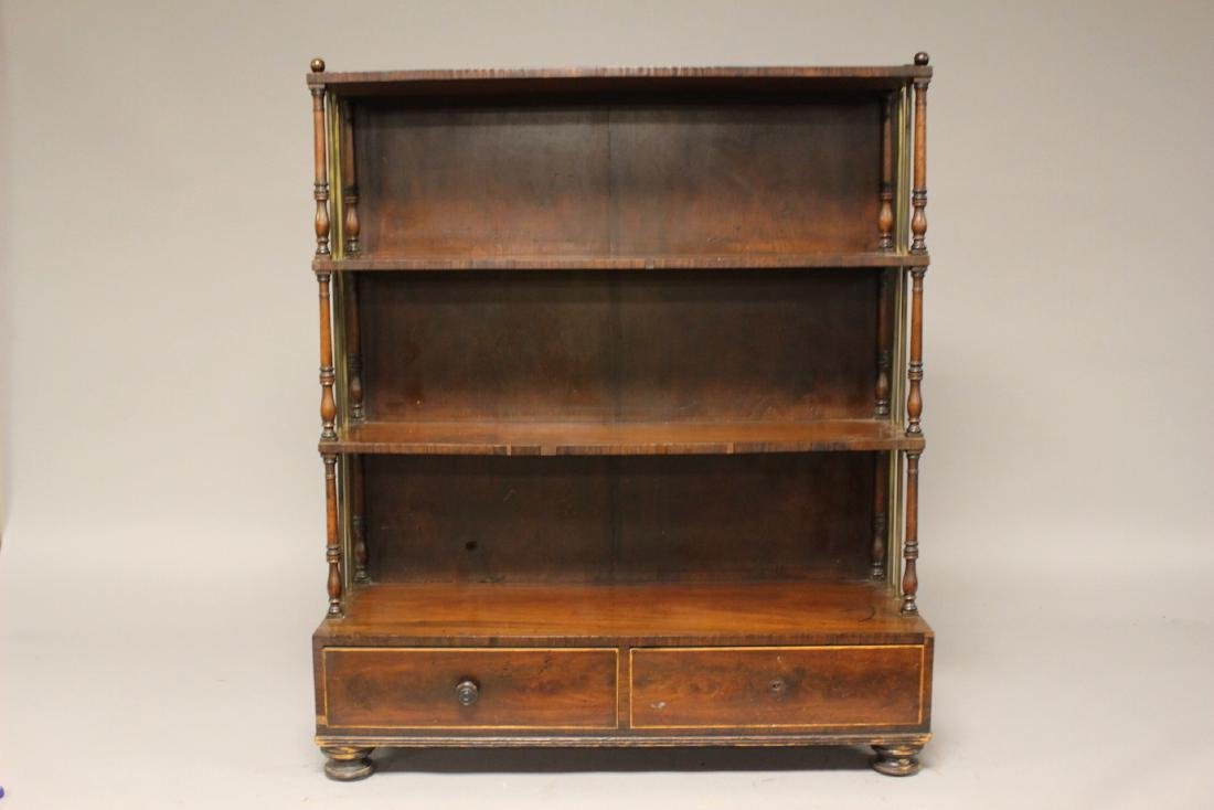 19th Century English Bookcase - 2