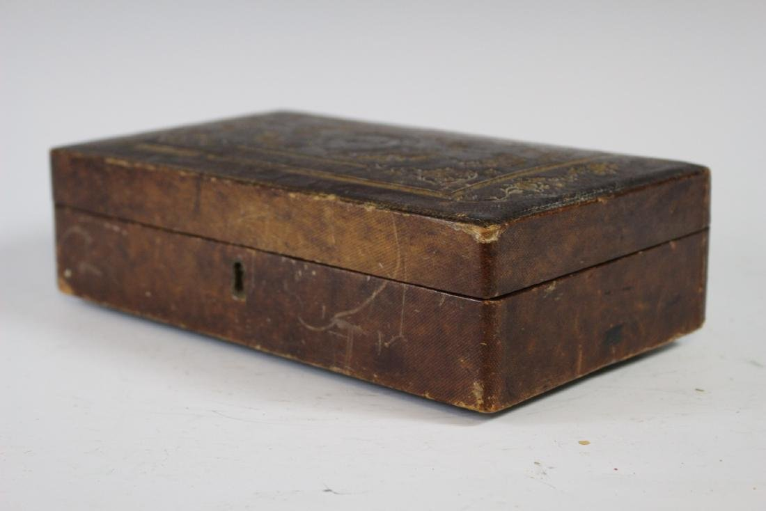 19th Century Tooled Leather  Medical Box - 10
