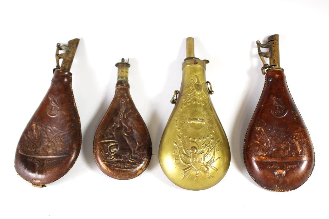 Civil War Powder Flask - 2