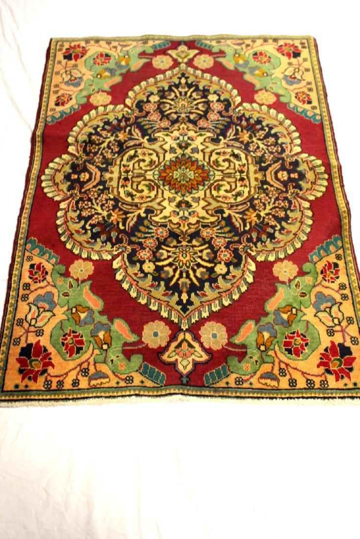 Semi Antique  Persian Carpet - 3