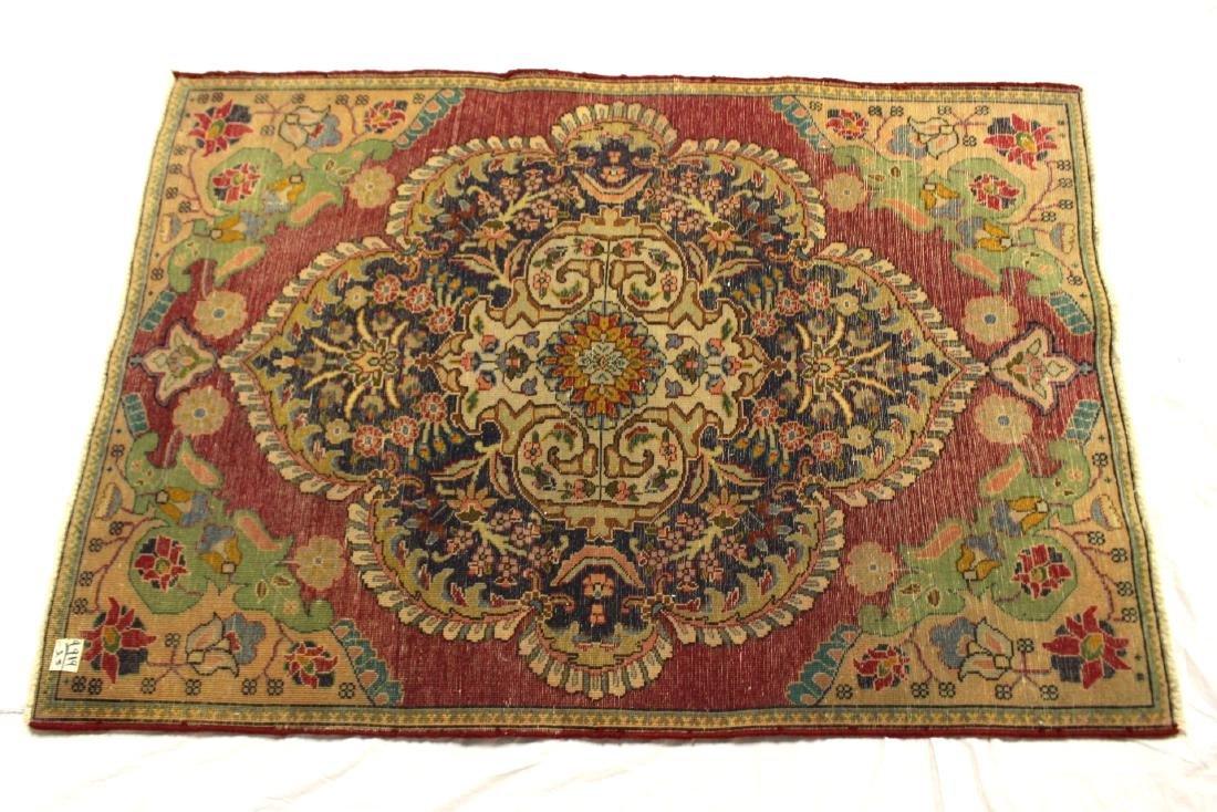 Semi Antique  Persian Carpet - 8