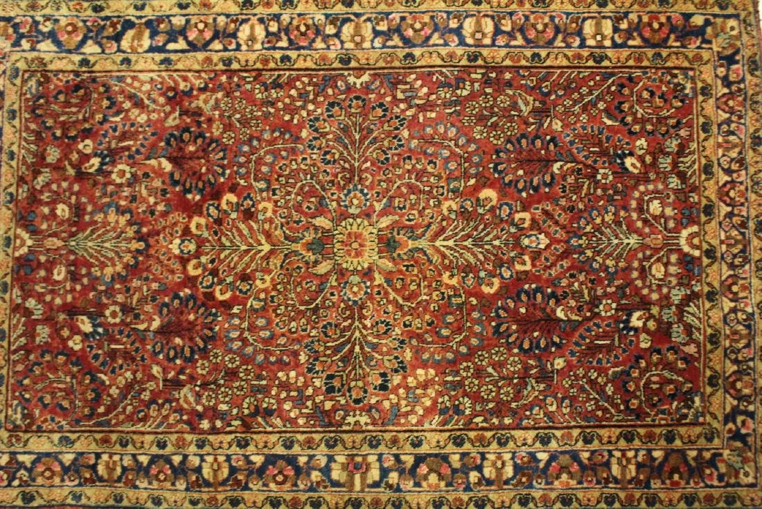 Semi-Antique Sarouk Persian Carpet - 2
