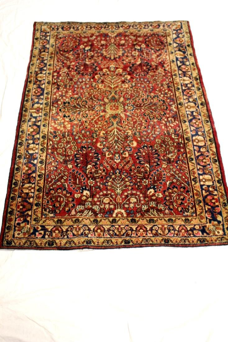 Semi-Antique Sarouk Persian Carpet - 3