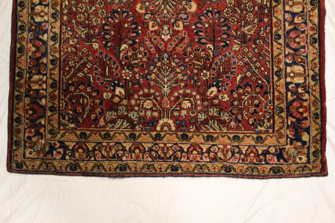 Semi-Antique Sarouk Persian Carpet - 4