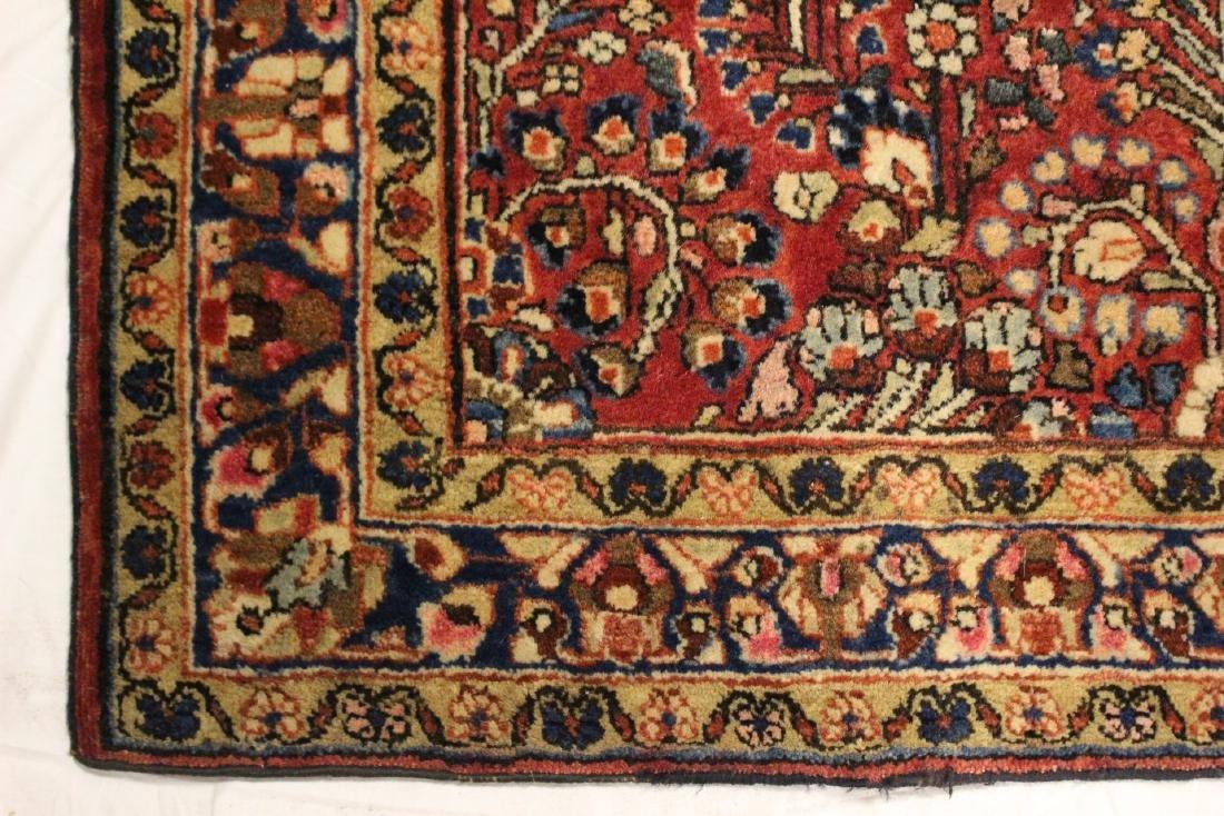 Semi-Antique Sarouk Persian Carpet - 5