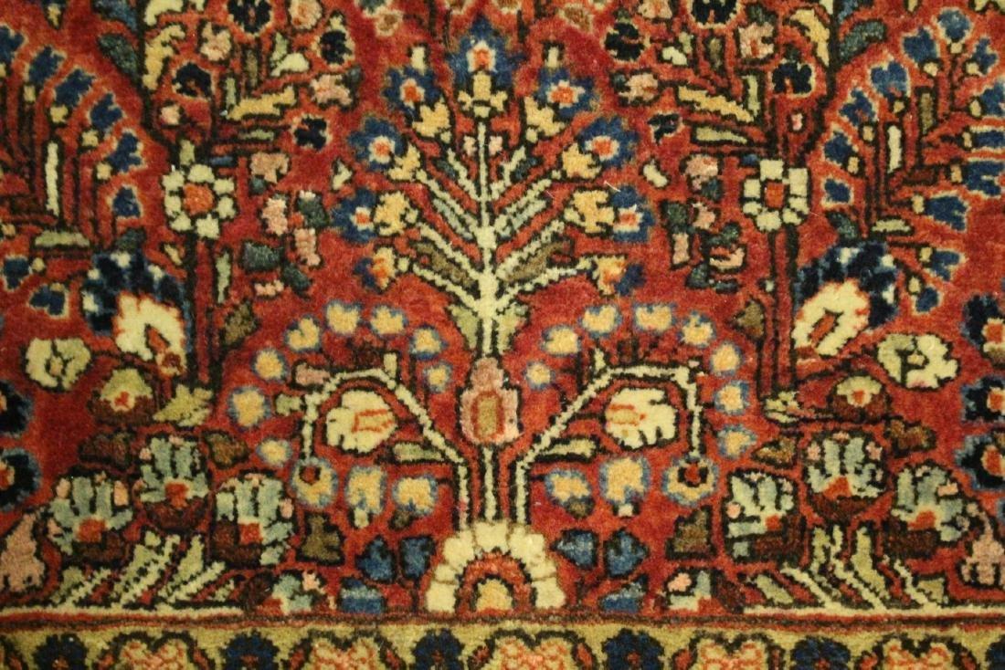 Semi-Antique Sarouk Persian Carpet - 6