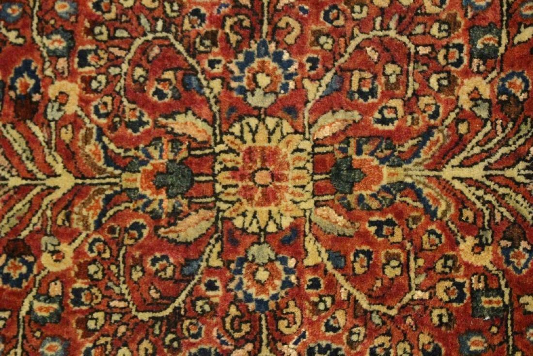 Semi-Antique Sarouk Persian Carpet - 7