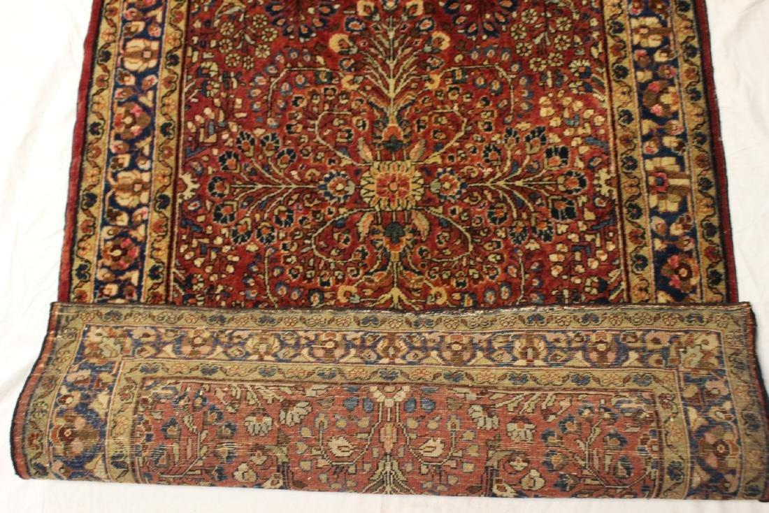 Semi-Antique Sarouk Persian Carpet - 8