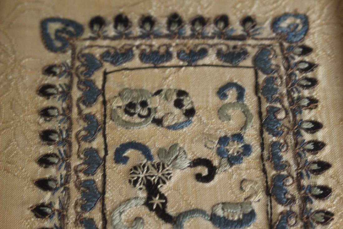 Chinese Framed Silk Embroidery - 6