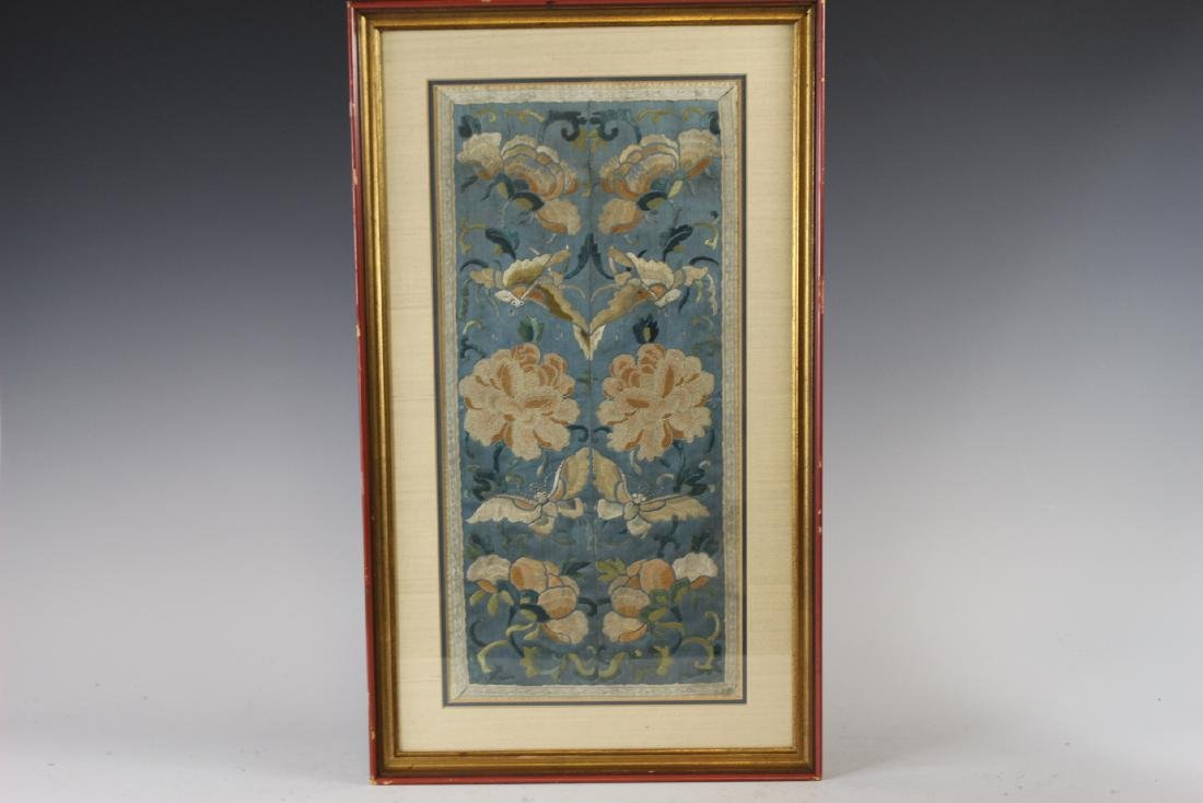 Chinese Framed Silk Embroidery - 2