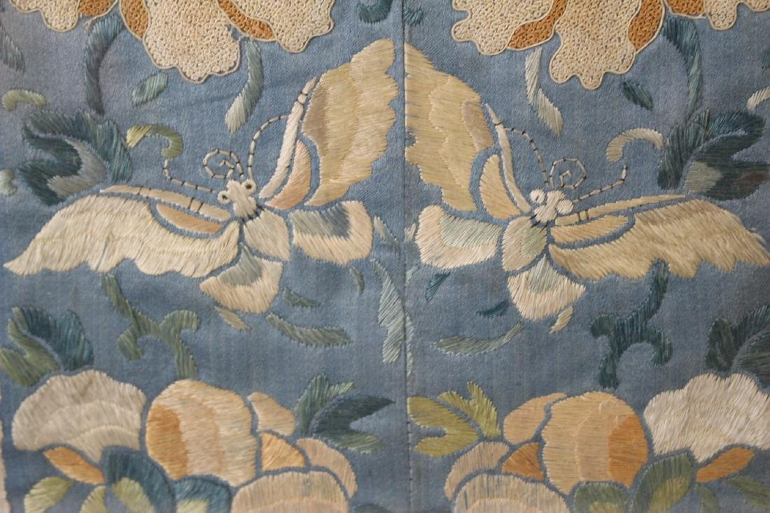Chinese Framed Silk Embroidery - 3