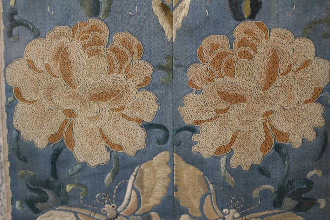 Chinese Framed Silk Embroidery - 4