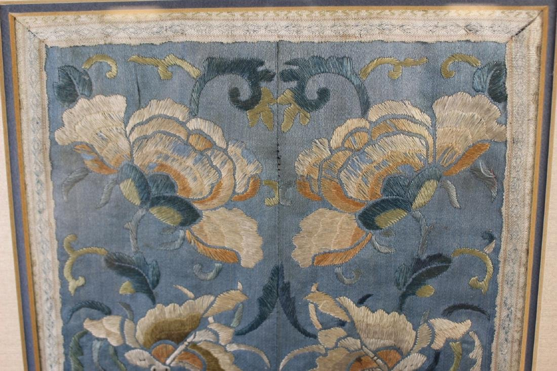 Chinese Framed Silk Embroidery - 5