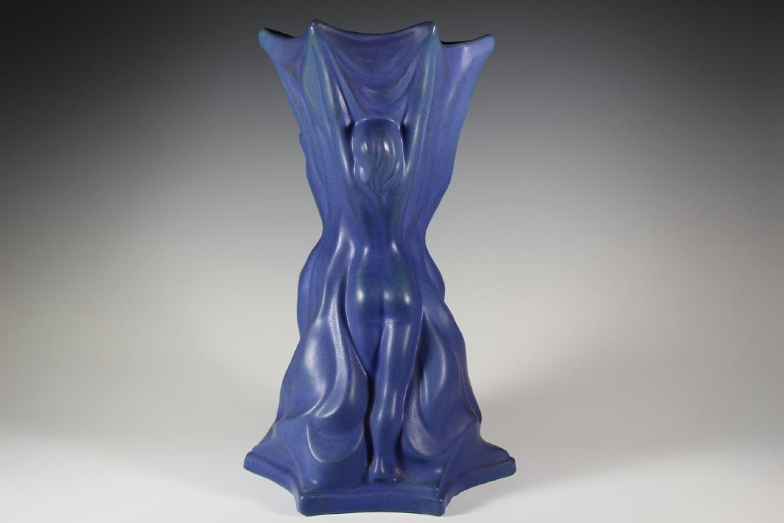 Large Van Briggle Pottery THREE GRACES Vase