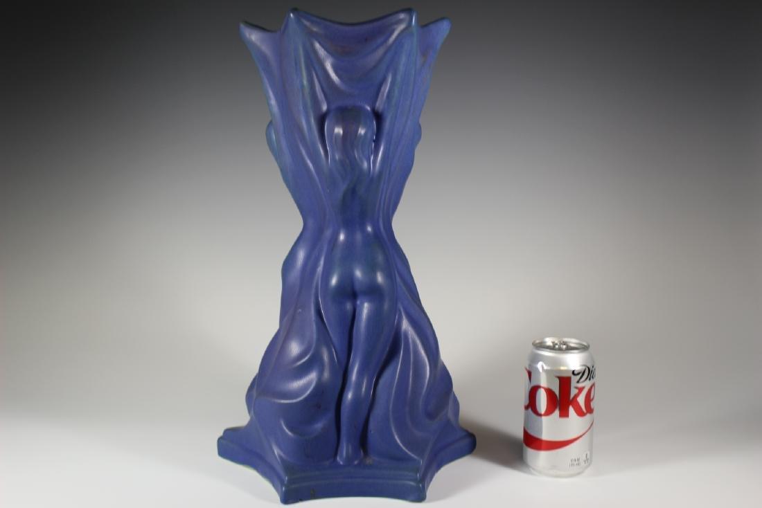 Large Van Briggle Pottery THREE GRACES Vase - 4
