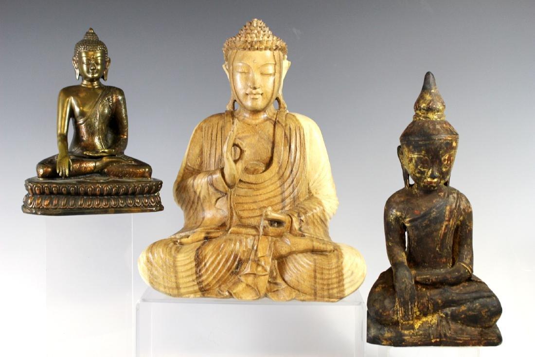 Three Buddha Statues - 2
